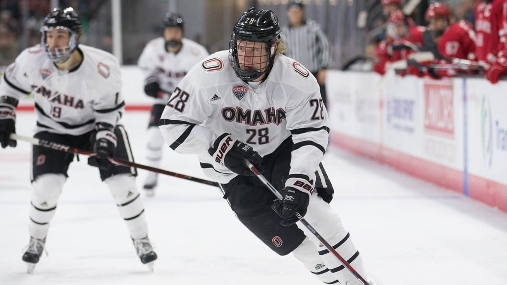 Image result for nebraska omaha hockey 2018