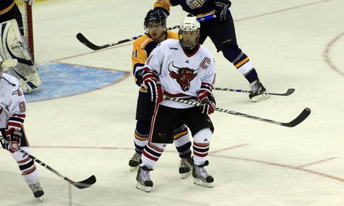 best sneakers e9f9a 69829 Mavericks Host Minnesota State in First WCHA Home ...