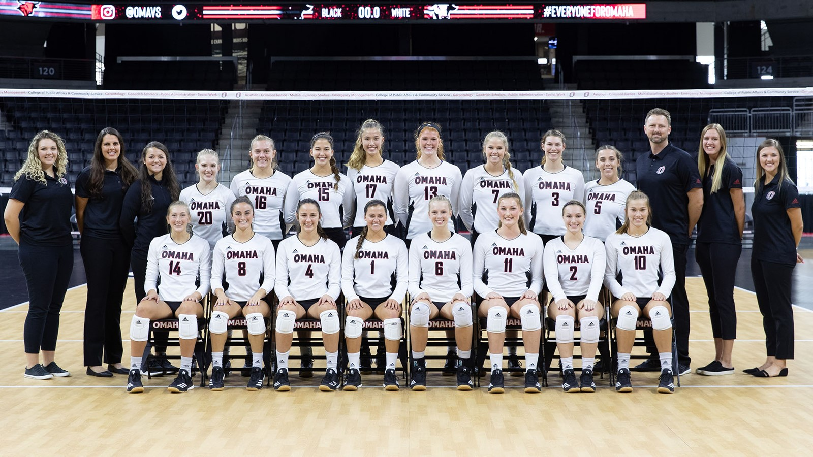 2019 Volleyball Roster University Of Nebraska Omaha Athletics